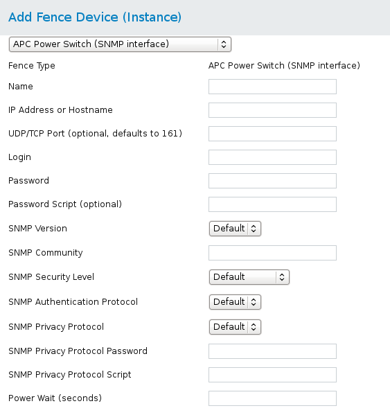 APC Power Switch over SNMP