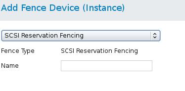 SCSI フェンシング