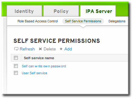 creating self service rules from the web ui