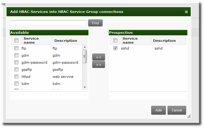 22 2  Creating Host-Based Access Control Entries for