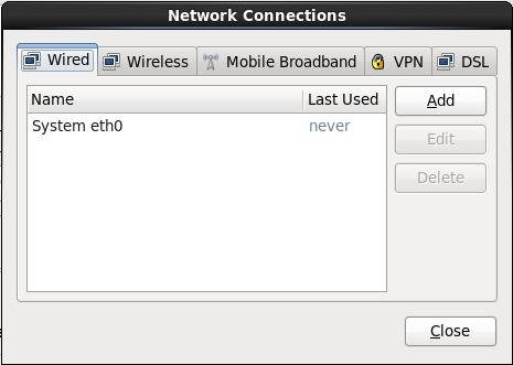 Netzwerkverbindungen