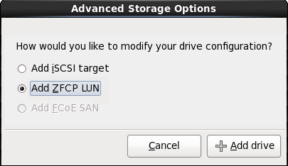 Advanced Storage Options