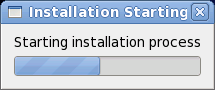Starting installation
