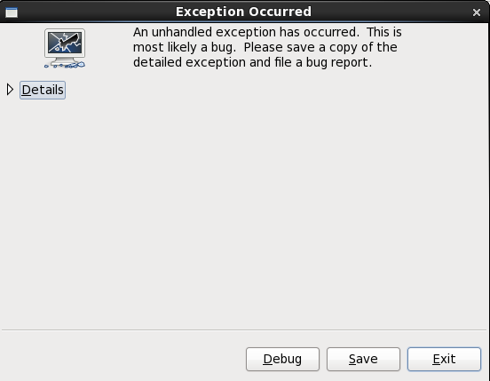 The Crash Reporting Dialog Box