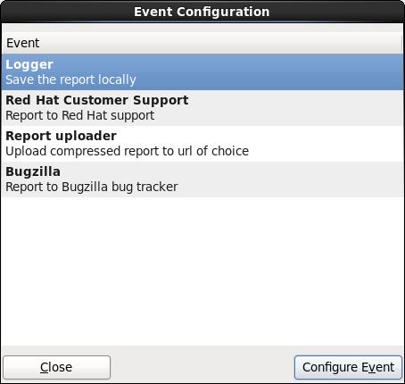 Configure reporter preferences
