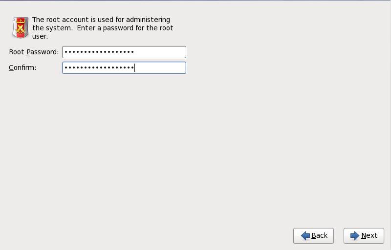 Mot de passe root (ou super-utilisateur)