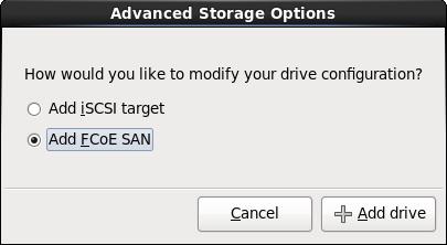 Opzioni di storage avanzate