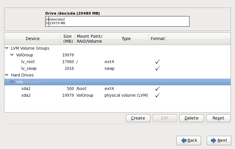 在 x86、 AMD64 和 Intel 64 系統上進行磁碟分割
