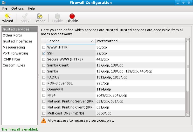 Resultado de imagem para Red Hat firewall