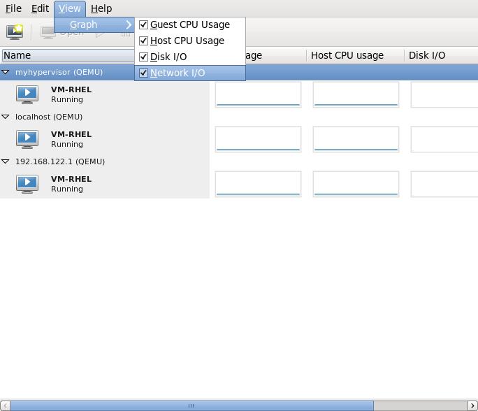 Selecting Network I/O