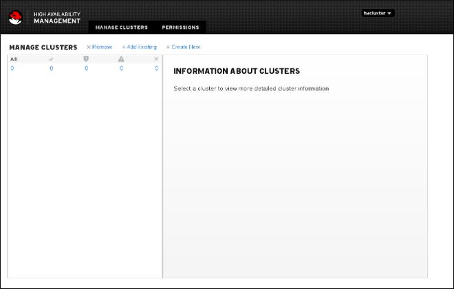クラスターページの管理