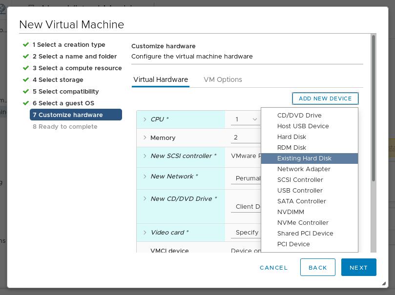 Virtualization type