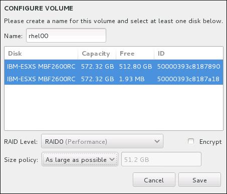 Cómo personalizar un volumen Btrfs
