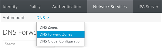 Managing DNS Forward Zones