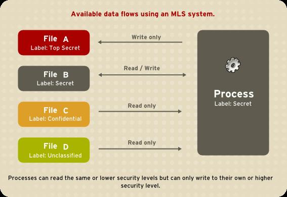 MLS を使用したデータフローの許可