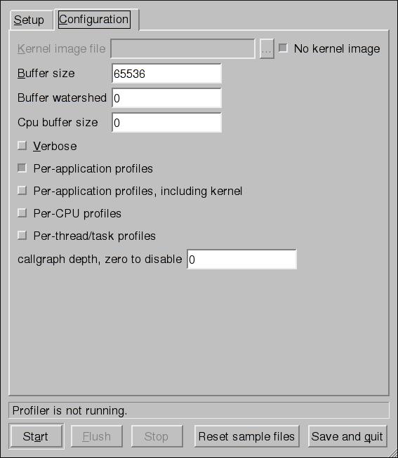 Configuration OProfile
