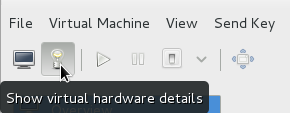 The virtual hardware details icon