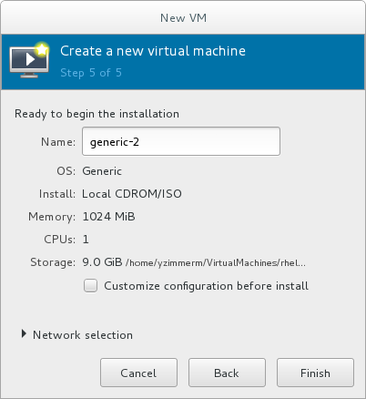 Verifying the configuration