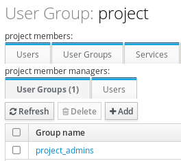 groups member manager added