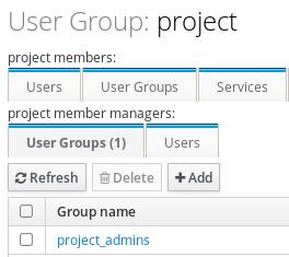 添加了组成员管理器