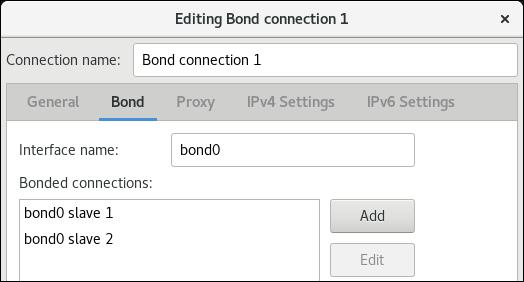 nm 接続エディターで nic をボンドに追加