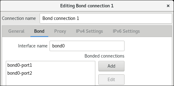 add nic to bond in nm connection editor