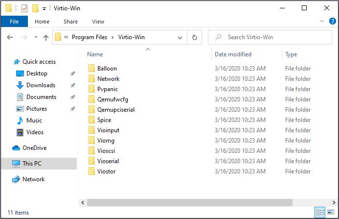 virtio win installer 3