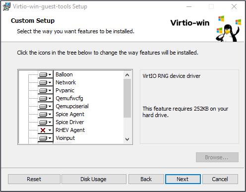 Virtio win 安装程序 2