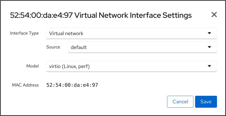 Web 控制台虚拟网络,如果设置
