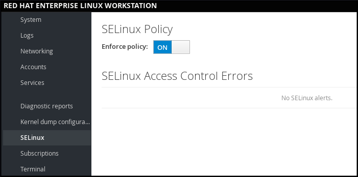 cs getting started selinux on