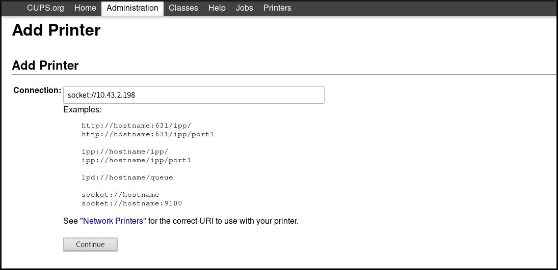 add printer in cups ui 5 new