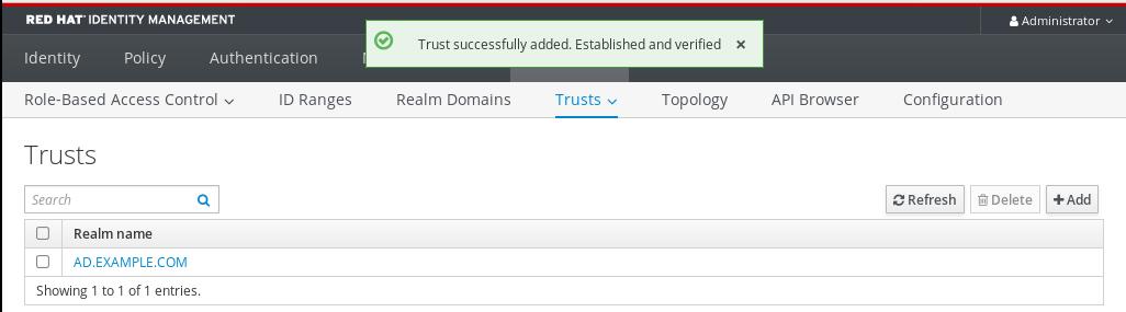 idm trust acrescentado