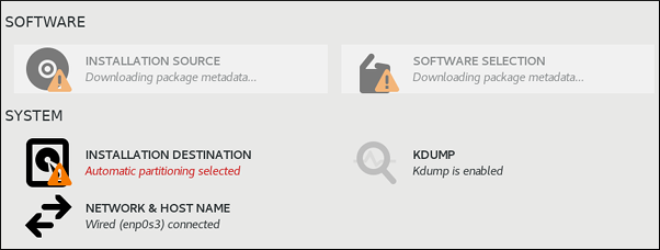 RHEL インストール時の kdump の有効化