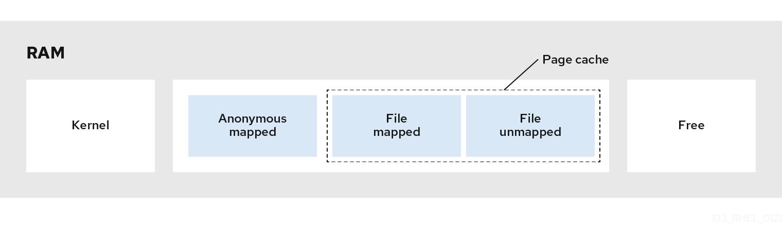 Memory usage patterns