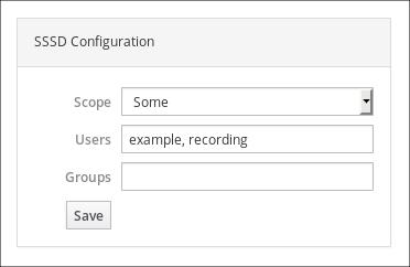 SSSD Configuration
