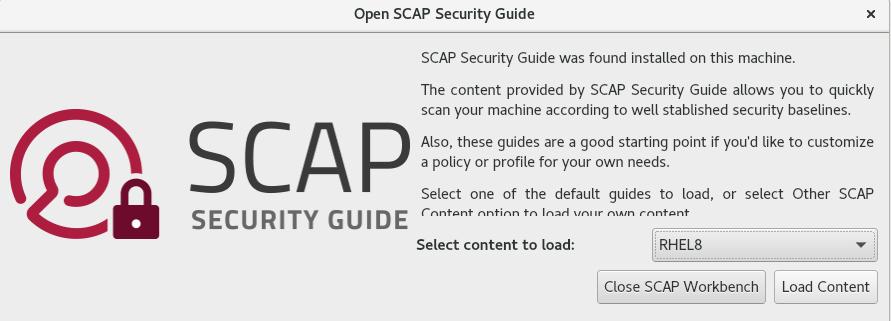SCAP workbench の起動
