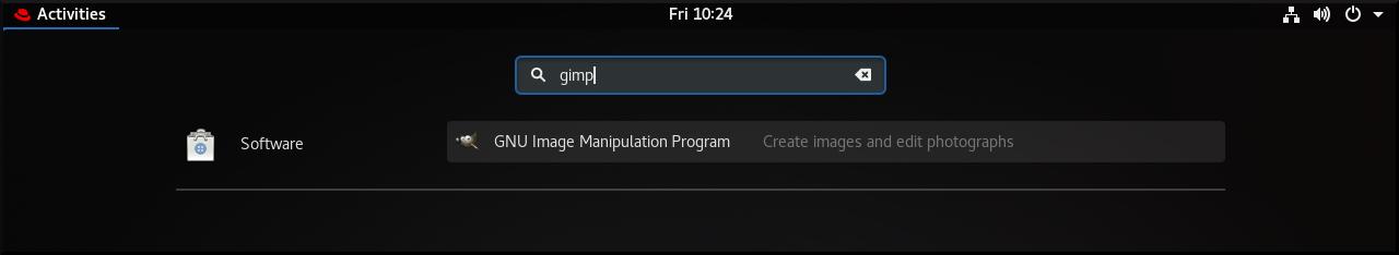install gimp 1 new