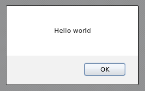 A Successful Implementation of the Hello World! Plug-in