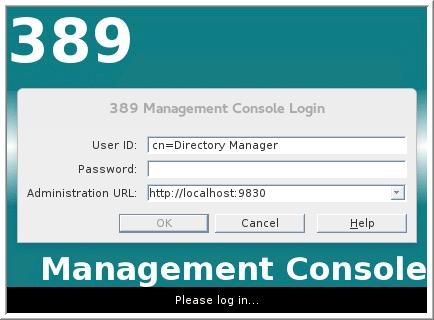 LDAP Console Login