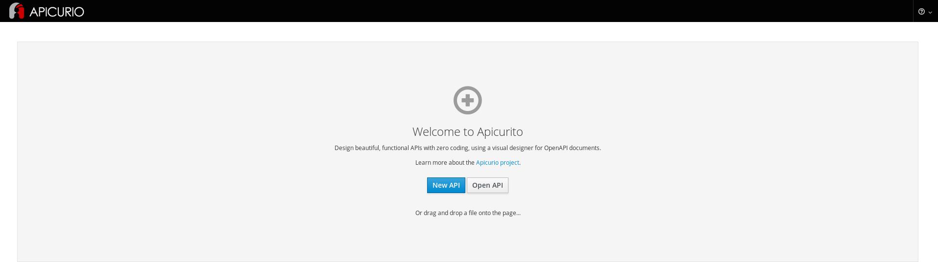apicurito instance create 05