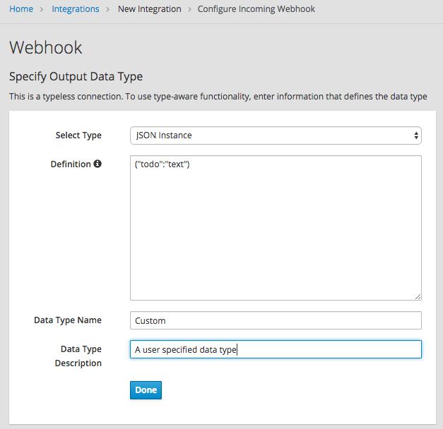 Specify Data Shape Image