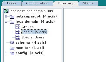 LDAP ServerConsole DIT