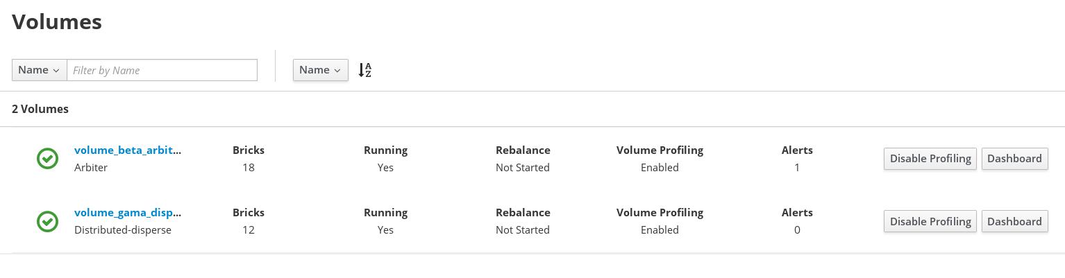 Disable Volume Profiling
