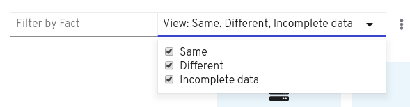 filter view options