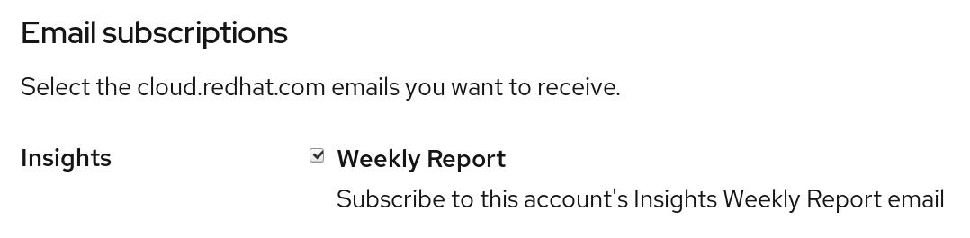 adv weekly email opt in