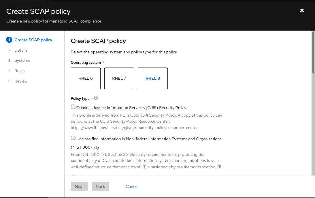 img compl assess create policy wizard 1