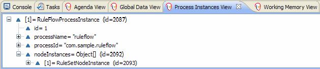 Sample Process Instances View