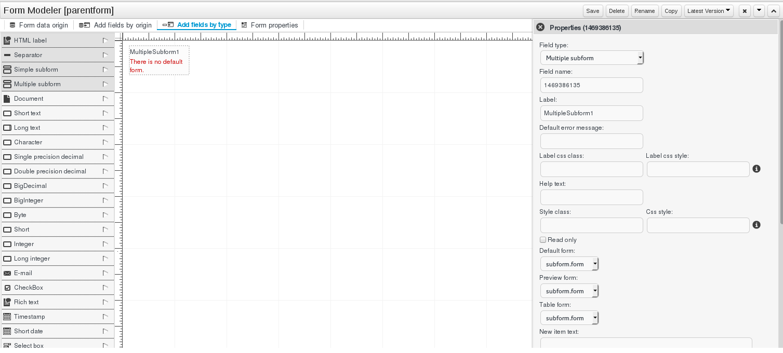 4 8  Form Modeler Red Hat JBoss BPM Suite 6 2 | Red Hat