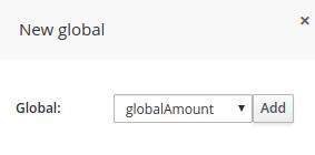 New Global pop up dialog for JBoss BRMS Test Scenario feature.