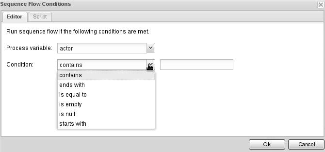 Script editor for BPM Suite 6.3 constraints.